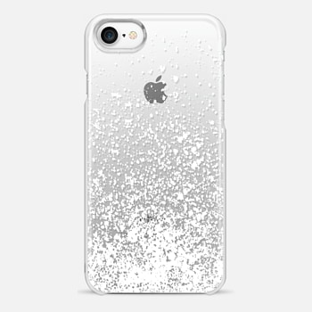 iPhone 7 Case white sparkly day