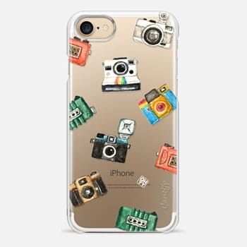 iPhone 7 Case Watercolor love lomo camera by imushstore
