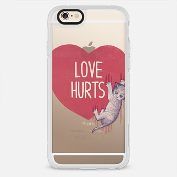 iPhone 6 Case Soft Love Hurts
