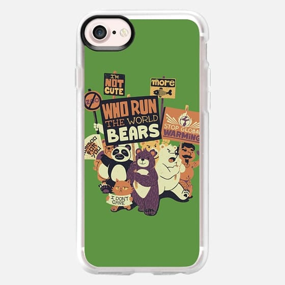 Who Run The World Bears XXX - Classic Grip Case