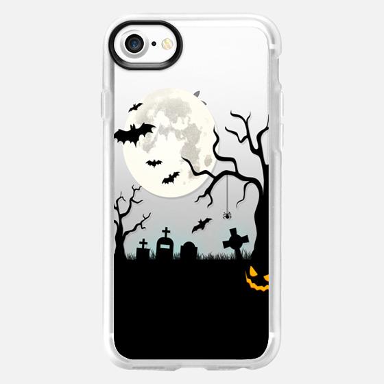 Halloween Silhouette iPhone Case -