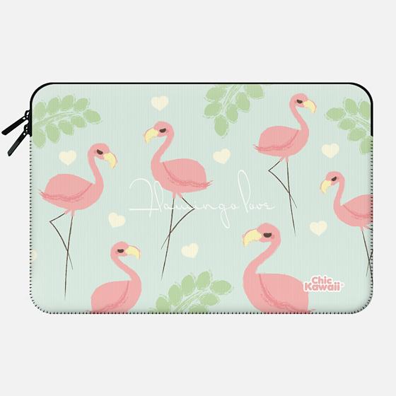 Flamingo By Chic Kawaii - Macbook Sleeve