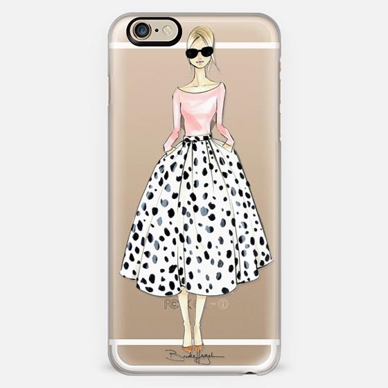 Reiley-Brooklit-Fashion Illustration - Classic Snap Case