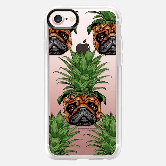 Pineapple Pug - Classic Grip Case