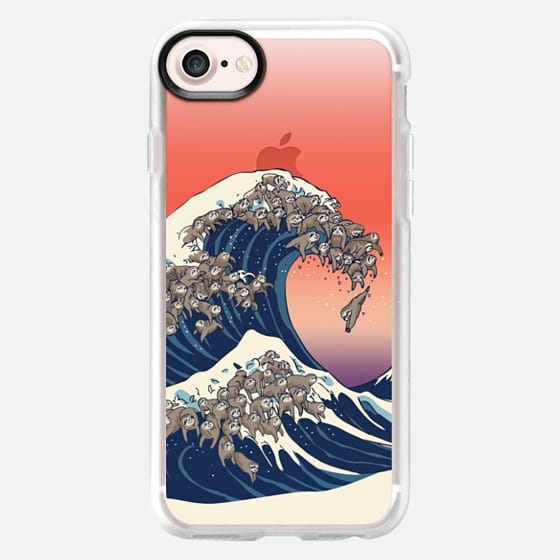 The great wave of sloth - Classic Grip Case