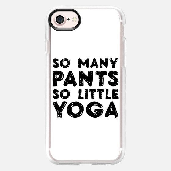 Yoga Pants - white - Classic Grip Case