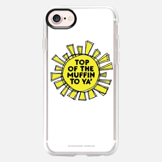 Top of the Muffin-white - Classic Grip Case