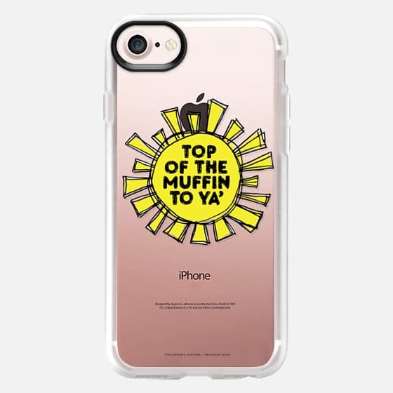 Top of the Muffin - clear - Classic Grip Case