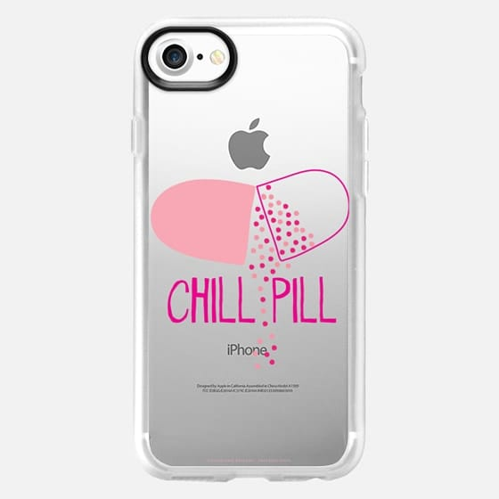 Chill Pill - Clear Case - Classic Grip Case
