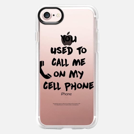 You Used to Call Me on My Cell Phone - Wallet Case