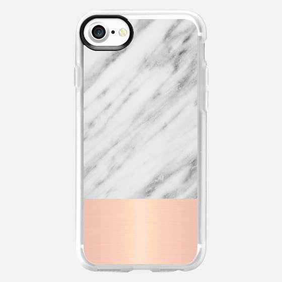Italian Marble and Pink - Wallet Case