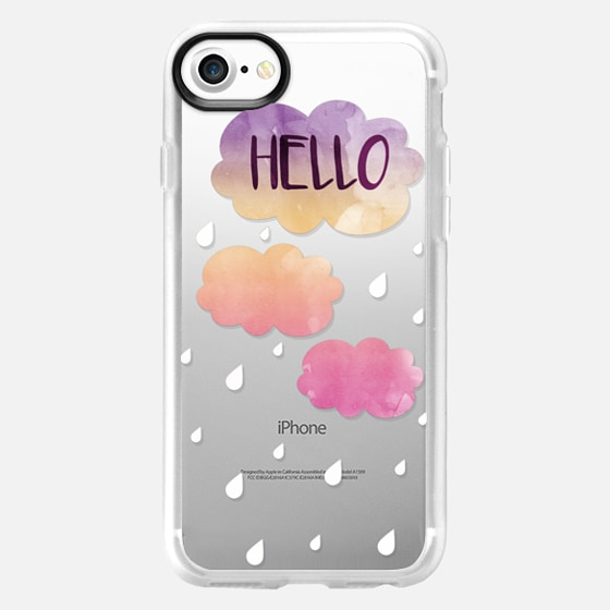 Hello Rain - Wallet Case