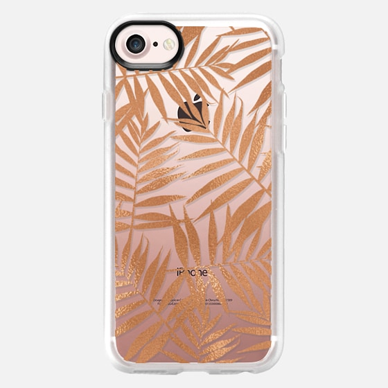 Rose Gold Leaves - Classic Grip Case