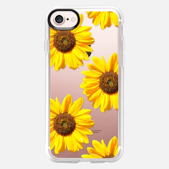 Sunflowers - Floral Pattern -