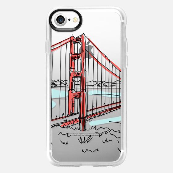 Travel Serie - San Francisco Golden Gate Bridge, California -