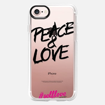 iPhone 7 Case Self Love - Peace and Love